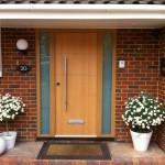 Oak Effect High Security Door